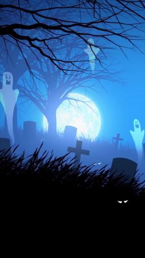 万圣节坟墓坟场白幽灵永利官网网址是多少