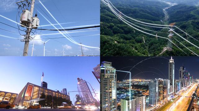 电力输送城市用电