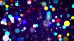 彩色唯美粒子LED舞臺背景視頻素材