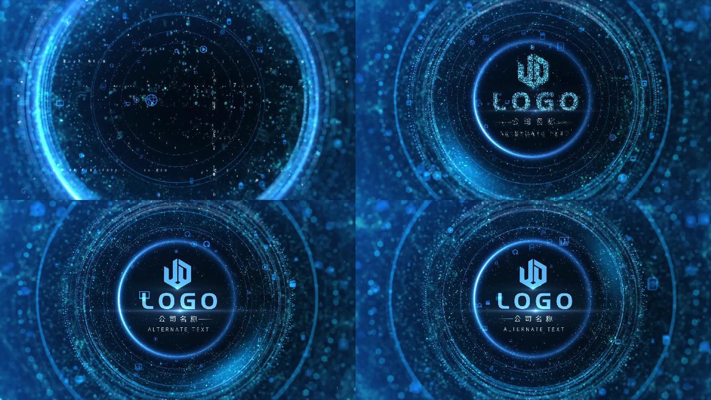 原創粒子科技片頭LOGO