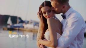 爱情婚姻片头百搭图文展示模板AE模板
