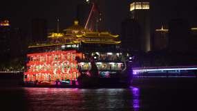 上海外滩滨江夜景70周年永利官网网址是多少