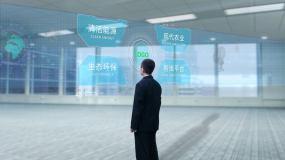 现代科技屏合成AE模板