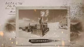 AECC2018老电影效果纪念相册视频模AE模板
