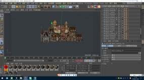 C4D+FBX+3dsmax-古老城堡3Dmax