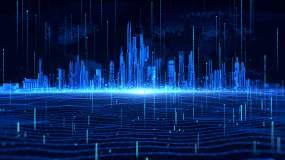 4k永利官网网址蓝色城市科技背景永利官网网址是多少永利官网网址是多少