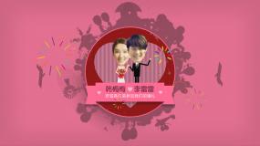 时尚婚礼开场动画视频AE模板