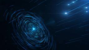 星轨光线AE源文件AE模板