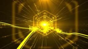 大气永利官网粒子光线发展历程时间线模板片头AE模板