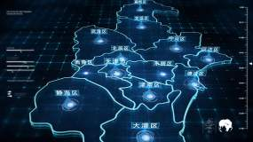 天津地圖-9(視頻素材)視頻素材