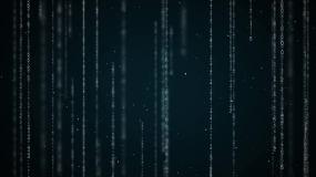 數字陣背景科技數據視頻素材