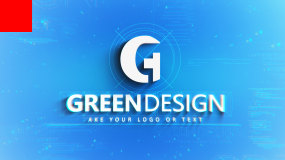 3D科技感logo演绎AE模板AE模板