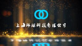 金色粒子背景LOGO标志片头AE模板AE模板