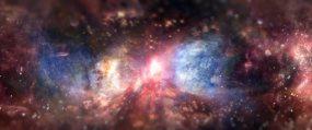 唯美夢幻星空太陽宇宙視頻素材