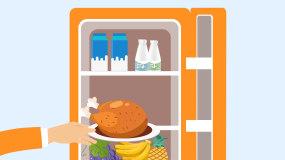 食品保鲜方案MG动画AE模板一AE模板