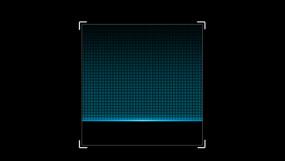 二维码扫描动画模板AE模板