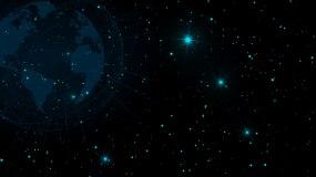 科技蓝色粒子背景素材永利官网网址是多少