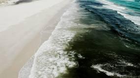 石油污染物,流入大海【4K】視頻素材