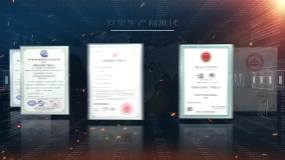 企業資質證書AE模板