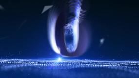 大氣震撼藍色10s倒計時視頻素材視頻素材