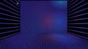 LED舞臺背景百大dj幾何變換陣列視頻素材