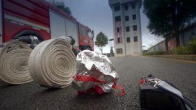 消防演练训练视频素材