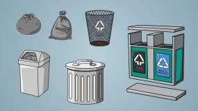 垃圾回收工具AE模板