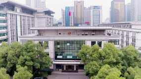 濱海公安局航拍視頻素材