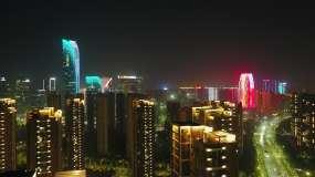 杭州燈光秀視頻素材