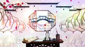 中国风歌舞背景视频素材