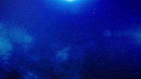 蓝色星空气氛背景视频素材