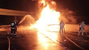 聚乙烯火灾救援视频素材
