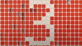 真實三維金屬方塊logo倒計時AE模板