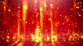 流光歲月金色粒子視頻素材