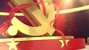 不忘初心牢记使命主题教育党建党政视频片头视频素材