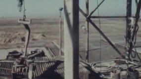 70年代華北油田視頻素材