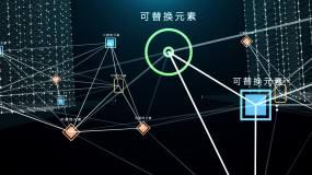 智能城市科技片头AE模板