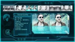 科技人物介绍DJ嘉宾时间表AE模板