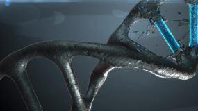 DNA螺旋工程C4D工程