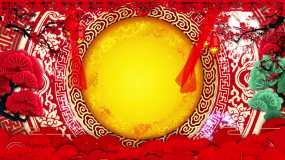 春节元旦新年晚会舞台背景永利官网网址是多少