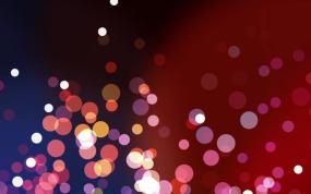 七彩粒子五彩缤纷粒子绚丽光效粒子视频素材
