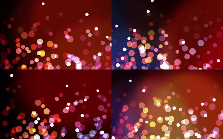 七彩粒子五彩缤纷粒子绚丽光效粒子