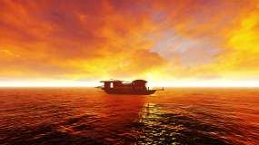 南湖红船视频素材