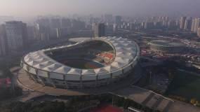 4K-原素材-上海体育馆航拍永利官网网址是多少