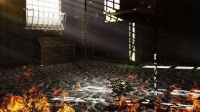 【原创】4K铁笼监狱牢房烈火6视频素材