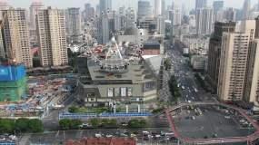 上海静安区大悦城摩天轮航拍4K素材永利官网网址是多少