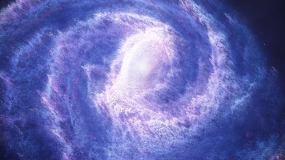 震撼大气宇宙星云粒子发射科技片头AE模板