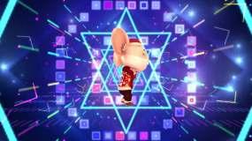 《野狼disco》歌曲老鼠跳舞背景视频素材