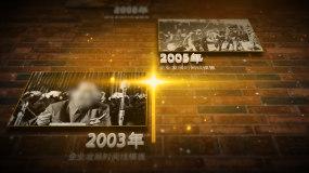 历史时间线历史大事件历史图文老照片AE模板