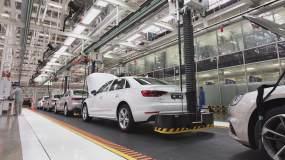 4K汽车生产组装流水线视频素材